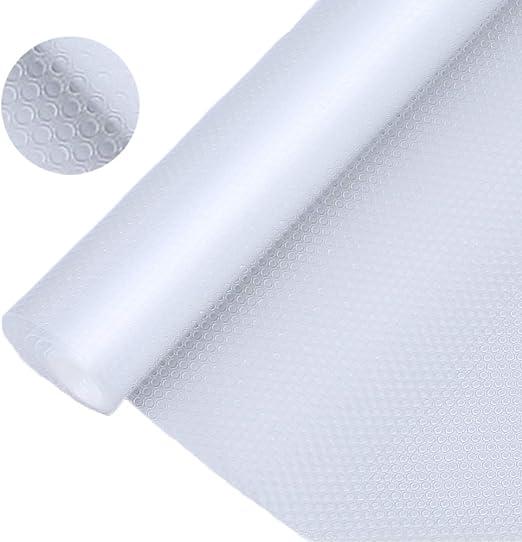 8 Pack Shelf Liners Can Be Cut Waterproof Refrigerator Mats Pad Washable Fridge Mats Liners 2 Pink//2 Green//2 Blue//2 White Fridge Liner Mats