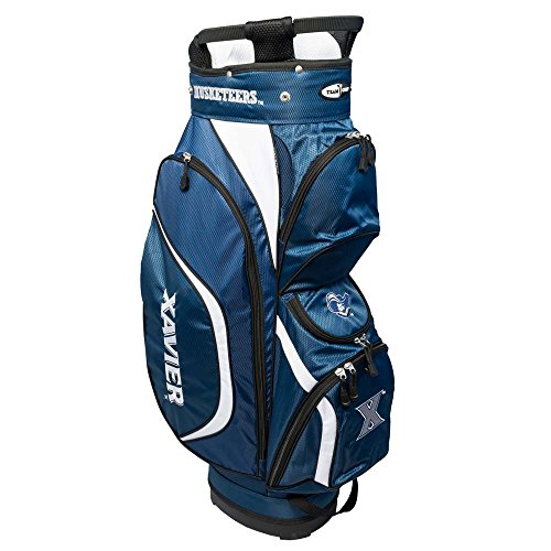 NCAA Xavier Clubhouse Golf Cart Bag by Team Golf