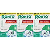 Rohto Cool The Original Cooling Redness Relief Eye Drops, 0.4 Ounce, 3 Count