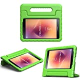 MoKo Samsung Galaxy Tab A 8.0 2017 Case - Kids Shock Proof Convertible Handle Light Weight Super Protective Stand Cover Case for Galaxy Tab A 8.0 2017 (SM-T380/T385) (NOT FIT 2015 Tab A 8.0), GREEN