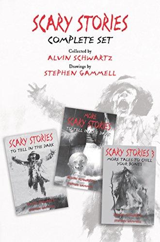 Scary Stories Complete Set: Scary Stories to Tell in the Dark, More Scary Stories to Tell in the Dark, and Scary Stories -