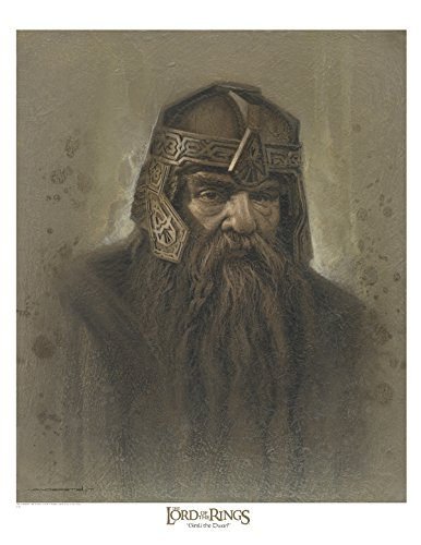 Gimli - brown antique 12x16