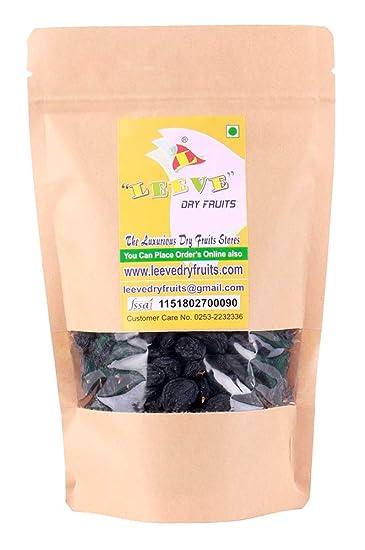 Leeve Dry Fruits Afghan Black Raisins Kali Kishmish Superior - 400