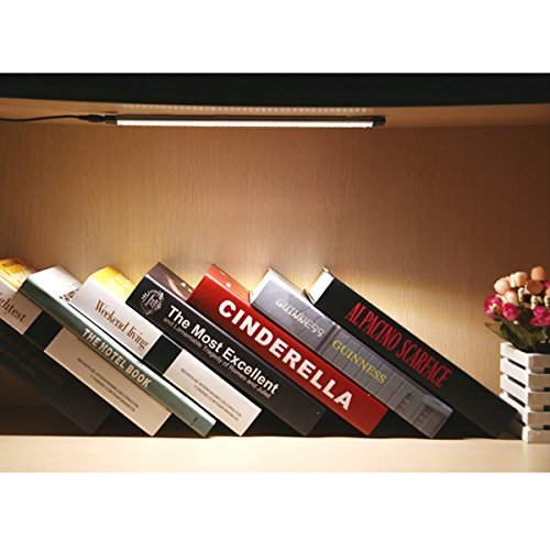 LE-Under-Cabinet-LED-Lighting-6-Panel-Kit-24W-Total-12-V-DC-1800lm-3000K-Warm-White-48W-Fluorescent-Tube-Equivalent-All-Accessories-Included-12in-Under-the-Counter-Lights-Closet-Light