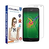 Cellbell Tempered Glass Screen Protector for Moto G5 Plus