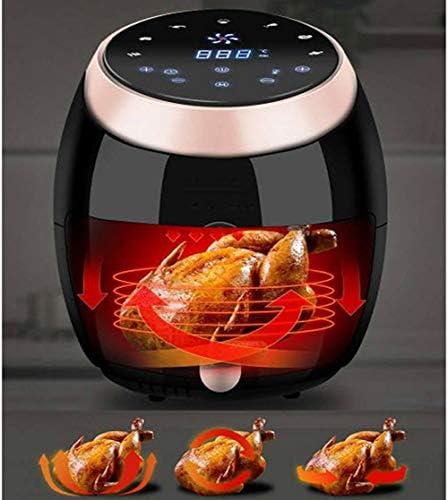 CYzpf Friteuse Électrique sans Huile Portable Capacité de 8 L Air Fryer Multifonction Ustensile de Cuisine Appareils pour Une Cuisson Saine ou Faible en Gras