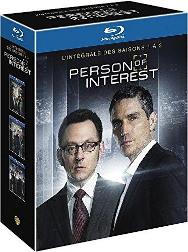 Person of Interest (Complete Seasons 1-3) - 12-Disc Box Set ( P.O.I. - Seasons One, Two & Three ) (+ UV Copy) [ Blu-Ray, Reg.A/B/C Import - France - Uv O