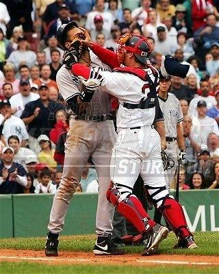 Jason Varitek Red Sox AROD brawl fenway Yankees 8x10 11x14 16x20 photo 094 - Size - Fenway Store