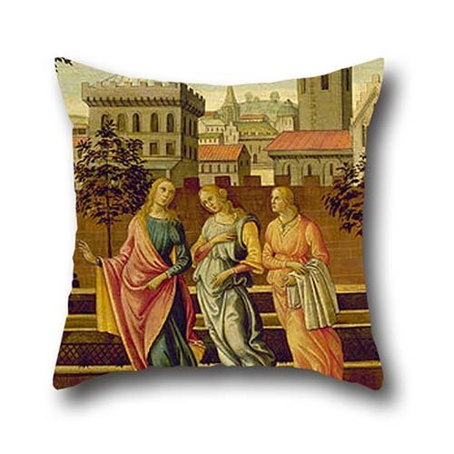 18 X 18 Inches / 45 By 45 Cm Oil Painting Master Of Apollo And Daphne - Susannah And The Elders Throw Pillow Case,2 Sides Is Fit For Husband,dance Room,dining (Kiss The Elder Costumes)