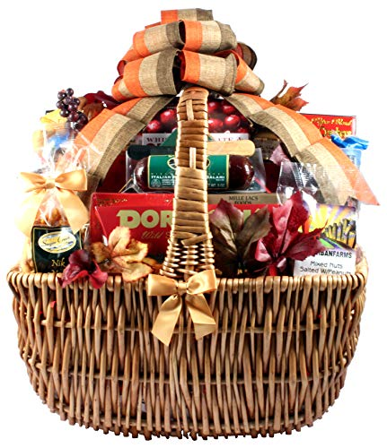 Gift Basket Village A Cut Above Fall Cheese and Sausage Gift Basket, XL ()