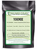 Yohimbe - Natural Bark Extract Powder - >75% Yohimbine Powder, 1 kg