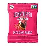 SKINNYDIPPED ALMONDS Dark Chocolate Raspberry