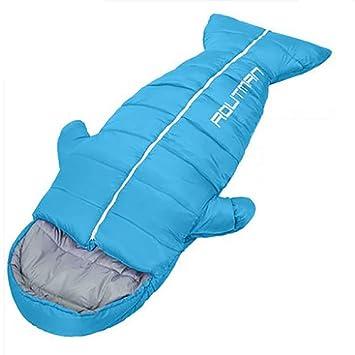 WDC Saco De Dormir De Interior Bolsa De Dormir para Adultos Engrosamiento Otoño E Invierno Caliente Ultra Ligero Portátil Camping Bolsa De Dormir,Blue: ...