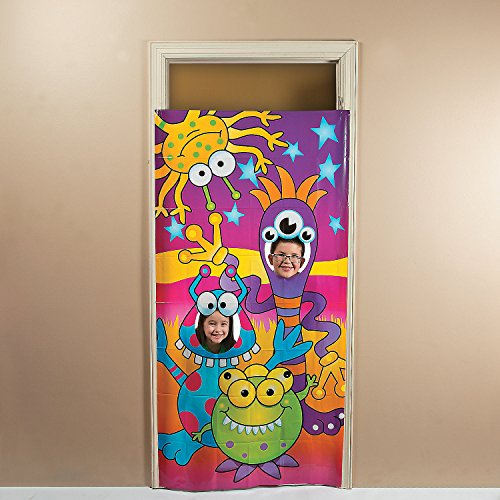 Fun Express - Happy Monster Photo Door Banner