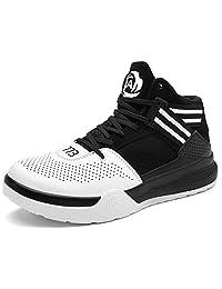JiYe Men's Lightweight Basketball Shoes Women's Sports Running Sneakers