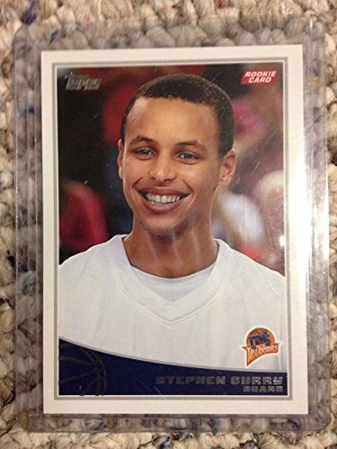 Stephen Curry Golden State Warriors 2009-10 Topps Rookie Basketball Card #321