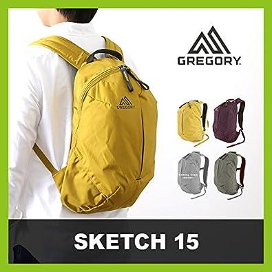 bb0698cdb2e93c Amazon | グレゴリー スケッチ15 SKETCH 15 リュックサック 15L 4.タイムグリーン | 登山リュック・ザック