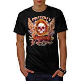 Pirate Bay Grave Yard Lost Souls Men NEW Black S-5XL T-shirt   Wellcoda