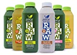 Juice From the RAW 3 Day Believer Juice Cleanse with cashew milk - 18 Bottles