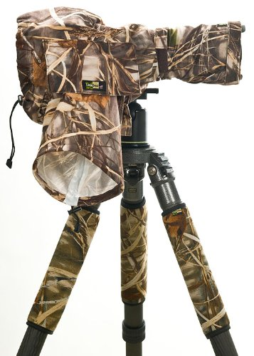 LensCoat RainCoat Standard (Realtree Max4 HD) Cover sleeve protection for Camera and Lens  LCRCSM4 by LENSCOAT