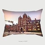 Custom Satin Pillowcase Protector Very Old Building In University Of Pennsylvania In Philadelphia Pennsylvania 345290033 Pillow Case Covers Decorative