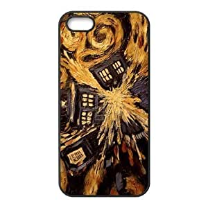 Doctor Who Tardis Personalized TPU Case for iPhone 5 5s IP5-TPU00245
