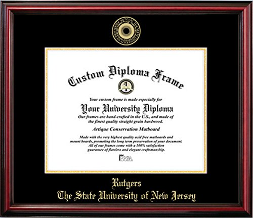 - Rutgers University Affordable Diploma Frame (8.5 X 11)