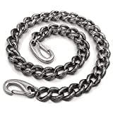 14'' ~ 36'' Mens 316L Stainless Steel Biker Rocker Punk Wallet Chain 5C016WC 3P1 (36 Inches)