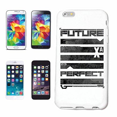 """cas de téléphone iPhone 7S """"FUTURE PERFECT VOUS STYLE FASHION TREND SHIRT"""" Hard Case Cover Téléphone Covers Smart Cover pour Apple iPhone en blanc"""