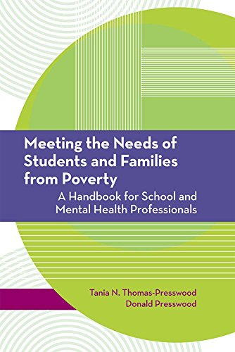 Meeting the Needs of Students and Families from Poverty: A Handbook for School and Mental Health Professionals