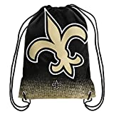Forever Collectibles NFL New Orleans Saints Sports Fan Backpacks, New Orleans Saints, Standard