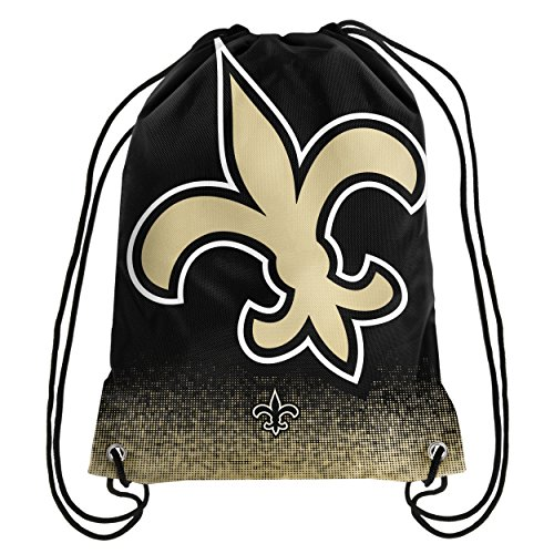 Forever Collectibles NFL New Orleans Saints Sports Fan Backpacks, New Orleans Saints, Standard - New Orleans Saints Bag