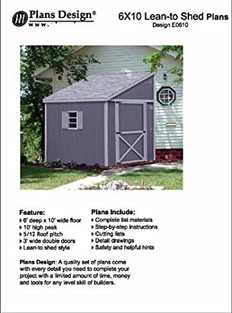 Review Storage Shed Plans, Lean