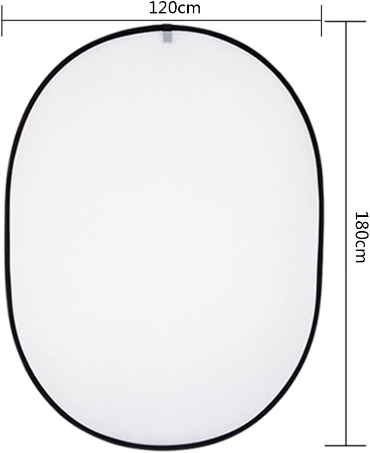 Gold Dison Pro Studio 24-inch // 60cm 5-1 Circular Collapsible Multi-Disc Light Reflector Photography with Bag Silver White and Black Translucent
