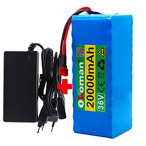 36 v E-Bike Li-ion Batterij 10s4p 20ah 500 w High Power Batterij 42 v 20000 mah 21700 Lithium Batterij Pack Ebike…