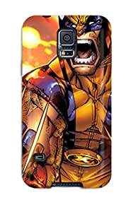 Protection Case For Galaxy S5 / Case Cover For Galaxy(wolverine Screaming)