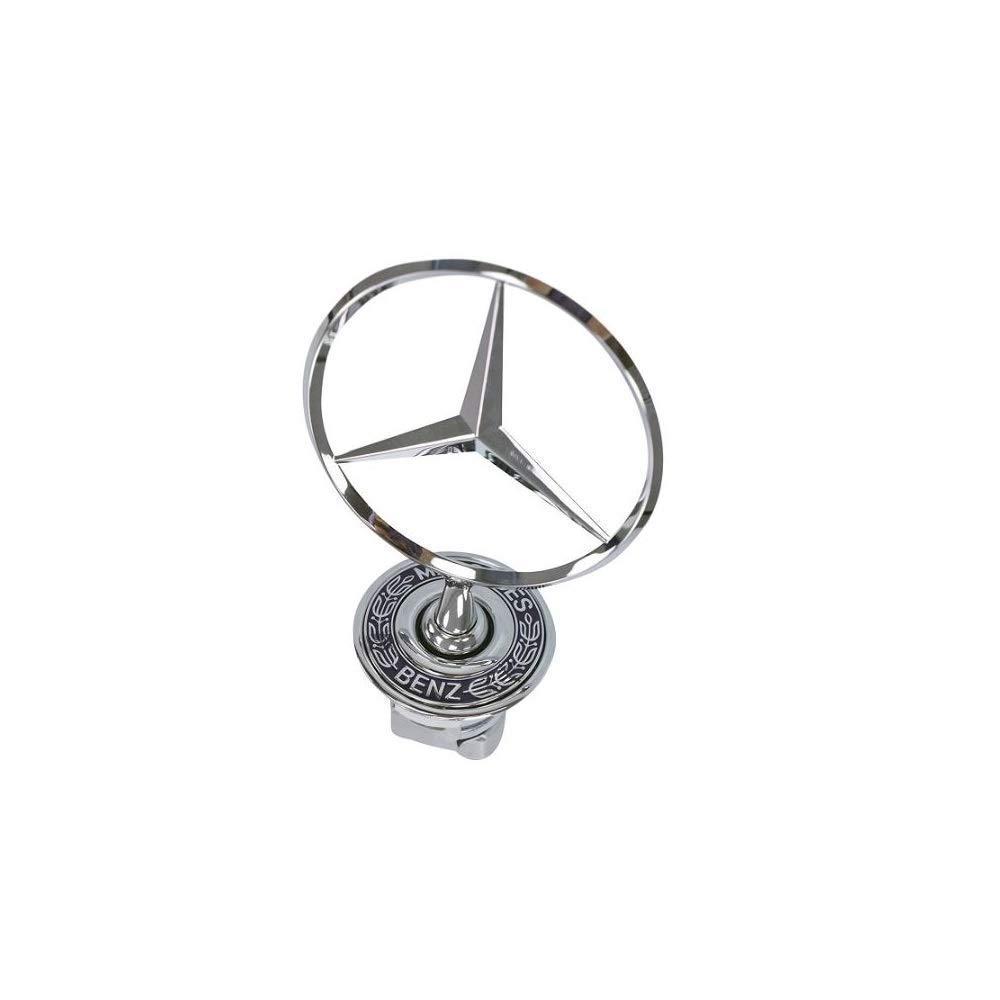 Recambio de Estrella Delantera Emblema Estrella para W211 W212 Clase E W221 Clase S W204 Clase C AMG