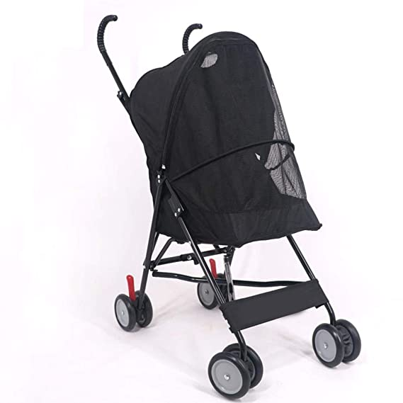 Amazon.com: Dixinla Pet StrollerCat Dog cart Walk Dog car Light ...