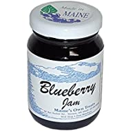 Maine Wild Blueberry Jam - Handcrafted Made in Maine - Small Batch - 5oz Gift Size