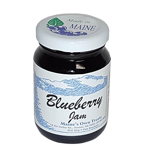 Maine Wild Blueberry Jam - Handcrafted Made in Maine - Small Batch - 5oz Gift Size (Maine Wild Blueberry Jam)