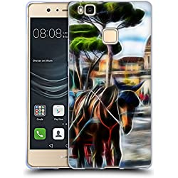 Official Haroulita Rome Places 3 Soft Gel Case for Huawei P9 Lite / G9 Lite
