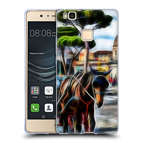 Official Haroulita Rome Places 3 Soft Gel Case for Huawei...