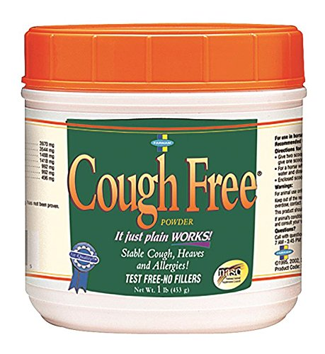 Farnam Cough Free Powder for Horses, 1 lb