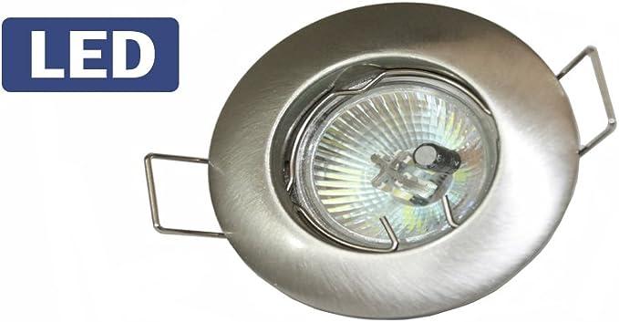 Foco Campana extractora para cocina Color Níquel cepillado MR11 LED 2 W: Amazon.es: Iluminación