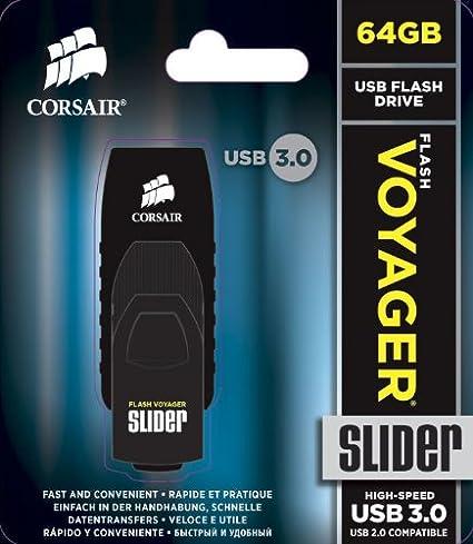 Corsair Cmfsl3b 64gb Flash Voyager Slider 64gb Usb 3 0 Computer Zubehör