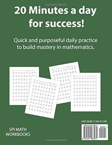 1st Grade Basic Math Drills Timed Test: Builds and Boosts Key ...
