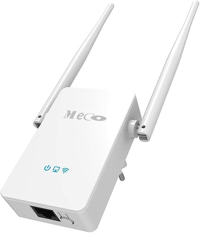 WiFi Repetidor Amplificador MECO 300Mbps Wi-Fi Repetidor de Red ...