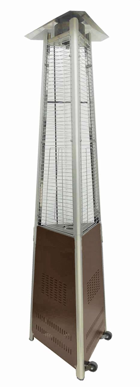 Amazon.com : AZ Patio Heaters HLDS01 CGTHG Commercial Glass Tube Patio  Heater, Bronze : Portable Outdoor Heating : Garden U0026 Outdoor