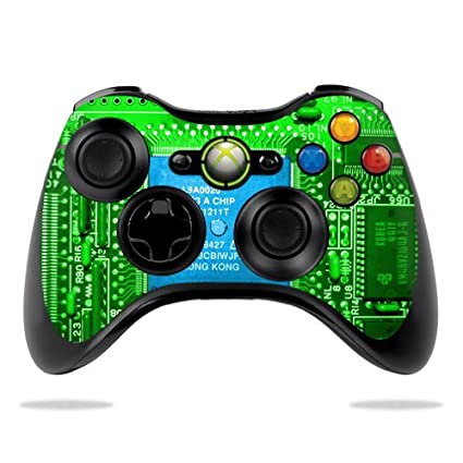 MightySkins Skin For Microsoft Xbox 360 Controller - Circuit Board on xbox 360 tournament controllers, xbox 360 console schematic, ps2 controller schematic, xbox controller wiring diagram, xbox 360 diagram, sega mega drive controller schematic, xbox controller circuit board, xbox 360 designs, nintendo controller schematic, xbox 360 s motherboard schematic, xbox controller front, xbox controller pinout, xbox controller buttons diagram, xbox controller board diagram, xbox 360 custom controllers, xbox controller circuit diagram, xbox one schematics, xbox 360 pcb schematic, xbox 360 blueprints,