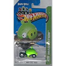 Hot Wheels 2012-035 HW Imagination ANGRY BIRDS MINION Green Piggy 1:64 scale